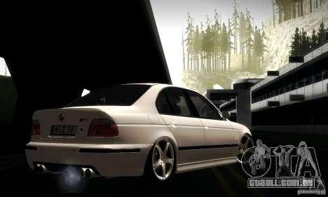 BMW M5 E39 para GTA San Andreas interior