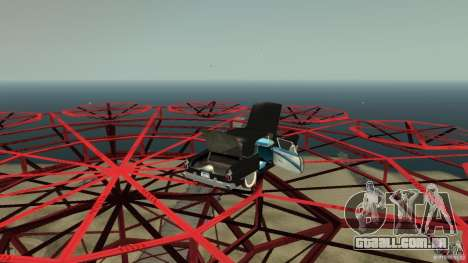 Smith Thunderbolt Mafia II para GTA 4 vista superior