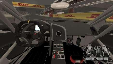 Audi R8 LMS para GTA 4 vista de volta