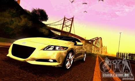 Honda CR-Z 2010 V2.0 para o motor de GTA San Andreas
