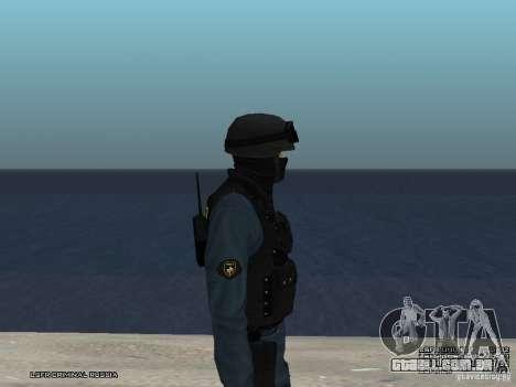 MOTIM policial para GTA San Andreas sexta tela