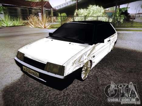 VAZ 2108 Chrome para GTA San Andreas