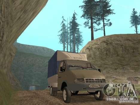 GAZ 3302 em 2001. para GTA San Andreas esquerda vista