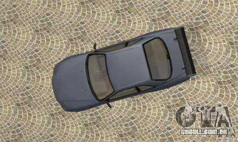 Nissan Skyline R-34 GTR para GTA San Andreas vista traseira