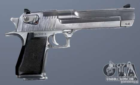 GRIMs Desert Eagle 50.AE Chrome para GTA San Andreas