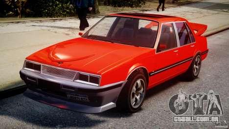 Willard DUB Edition para GTA 4 vista de volta