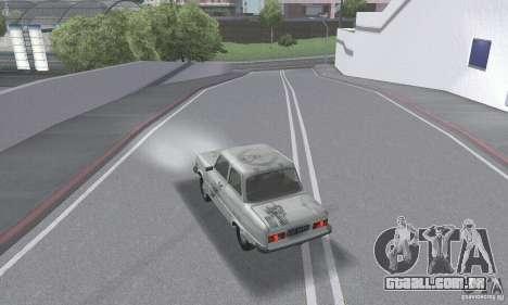 ZAZ 968M esfarrapado para GTA San Andreas vista inferior