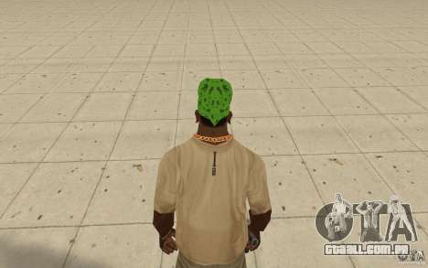 Bandana verde maryshuana para GTA San Andreas terceira tela