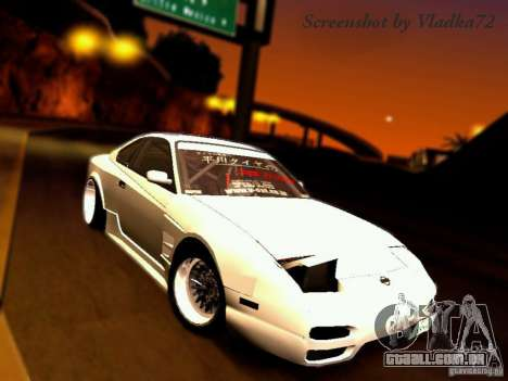 Nissan 150SX Drift para GTA San Andreas
