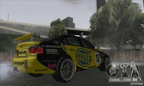 BMW 320i GRID para GTA San Andreas vista direita