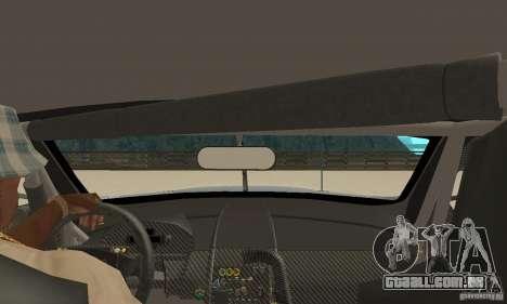 Aston Martin DBR9 (v1.0.0) para GTA San Andreas vista direita
