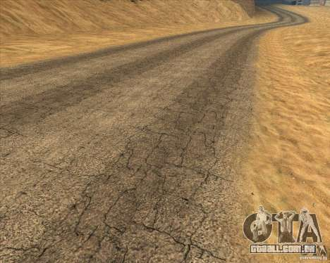 Desert HQ para GTA San Andreas sétima tela