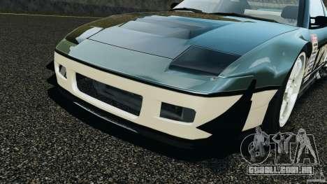 Nissan 240SX Time Attack para GTA 4 vista superior
