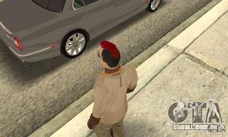 Red Mohawk and Black Stubbles para GTA San Andreas terceira tela