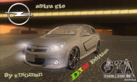 Opel Astra GTC DIM v1.0 para GTA San Andreas