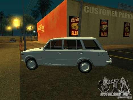 VAZ 2106 Touring para GTA San Andreas traseira esquerda vista