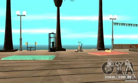 Dan Island v1.0 para GTA San Andreas por diante tela