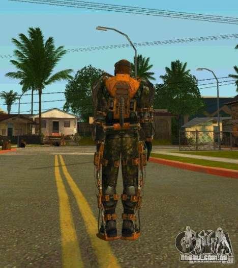 Peles de STALKER para GTA San Andreas nono tela