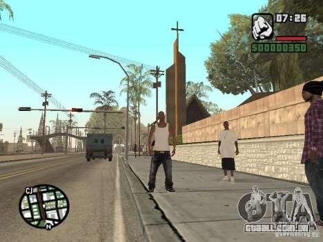 Sono para GTA San Andreas por diante tela