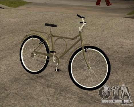 Bicicleta nova para GTA San Andreas