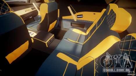 BMW M5 Lumma Tuning [BETA] para GTA 4 vista interior