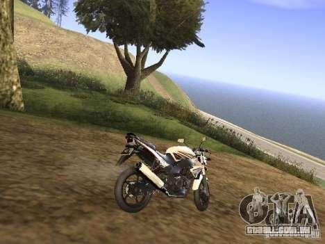 Yamaha V-Ixion para GTA San Andreas traseira esquerda vista