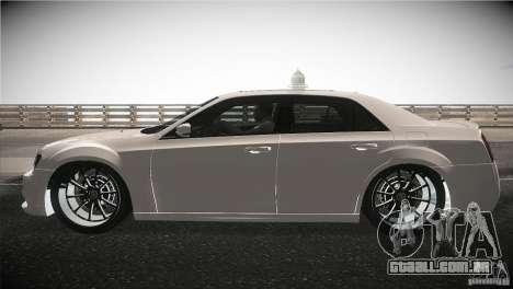 Chrysler 300 SRT8 2012 para GTA San Andreas esquerda vista