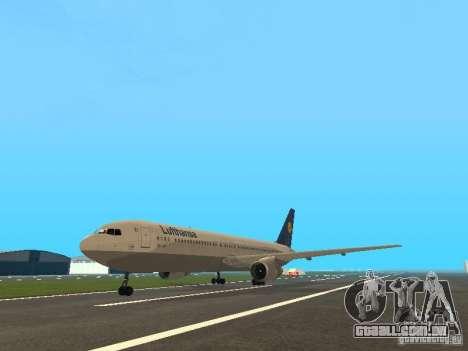 Boeing 767-300 Lufthansa para GTA San Andreas