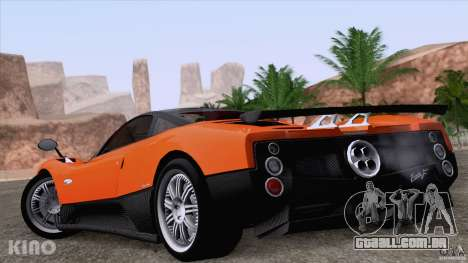Pagani Zonda F para o motor de GTA San Andreas