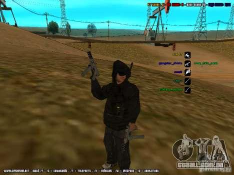 Traficante de drogas para GTA San Andreas segunda tela