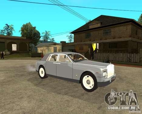 Rolls-Royce Phantom (2003) para GTA San Andreas vista direita
