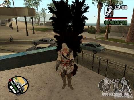 Ezio auditore de Firenze para GTA San Andreas por diante tela