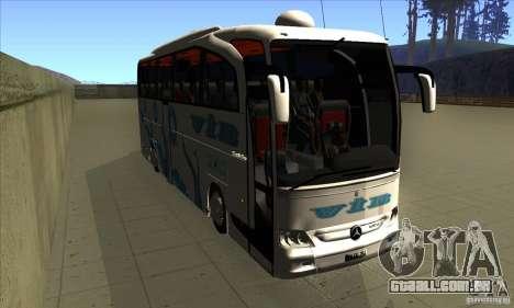 Mercedes-Benz Travego 15 SHD para GTA San Andreas vista traseira