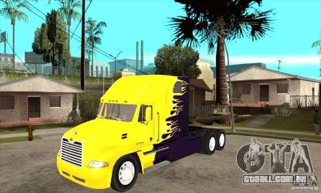 Mack para GTA San Andreas esquerda vista