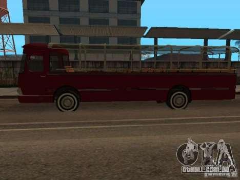LIAZ 677 excursão para GTA San Andreas esquerda vista