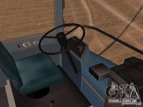GM TDH-5303 para GTA San Andreas vista interior