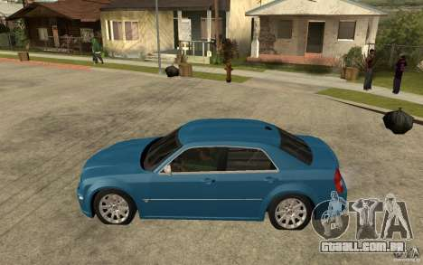 Chrysler 300C 6.1 SRT-8 2007 para GTA San Andreas esquerda vista