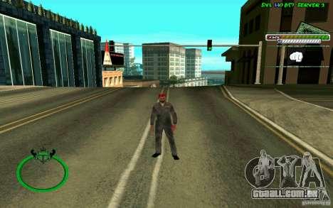 Mechanik HD Skin para GTA San Andreas por diante tela