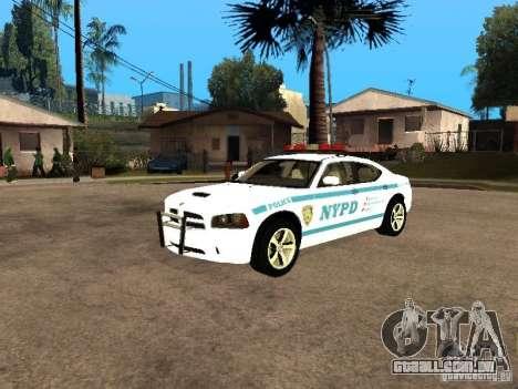 Dodge Charger Police NYPD para GTA San Andreas