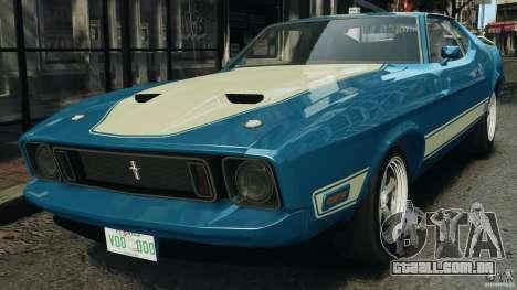 Ford Mustang Mach I 1973 para GTA 4