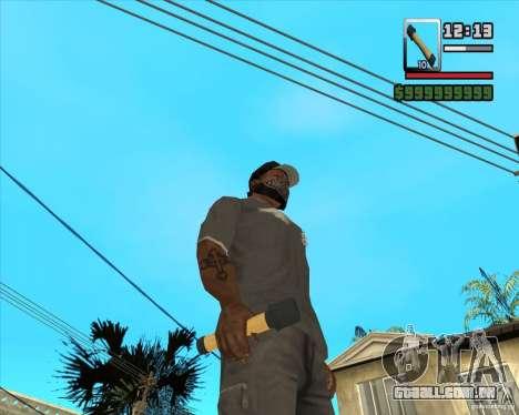 Foguete m-24 para GTA San Andreas