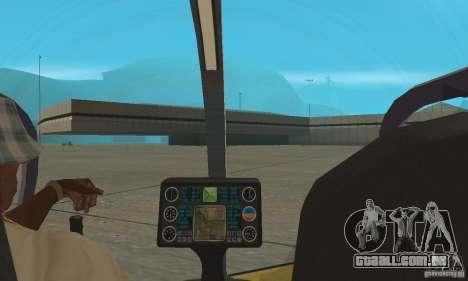 Dragonfly para GTA San Andreas vista traseira