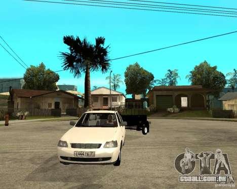 2170 LADA Priora luz tuning e reboque para GTA San Andreas vista traseira