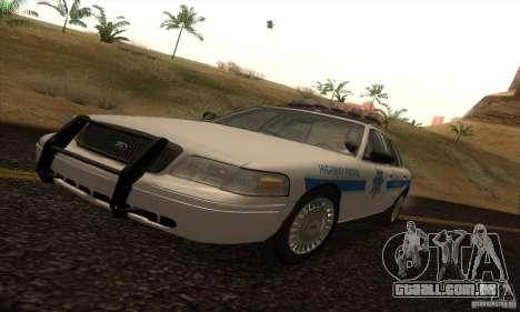 Ford Crown Victoria Arizona Police para GTA San Andreas