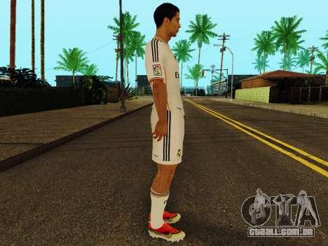 Cristiano Ronaldo v1 para GTA San Andreas segunda tela