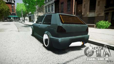 Volkswagen Golf 2 Low is a Life Style para GTA 4 vista de volta