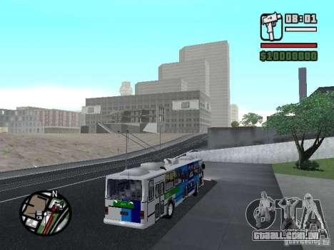 Cobrasma Monobloco Patrol II Trolerbus para GTA San Andreas vista direita
