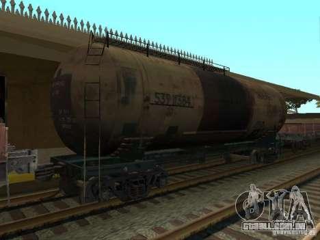 Tanque n. º 68T 53911384 para GTA San Andreas esquerda vista