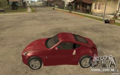 Nissan 370Z 2010 para GTA San Andreas esquerda vista