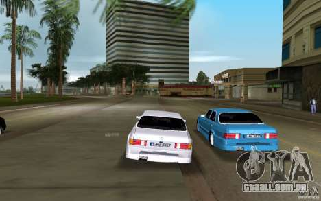 Mercedes-Benz W126 Wild Stile Edition para GTA Vice City vista traseira